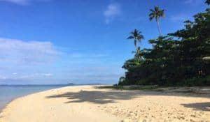 Pulau Joyo beach view