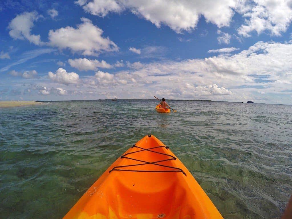 Pulau Joyo kayaking