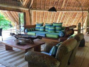 Pulau Joyo living area