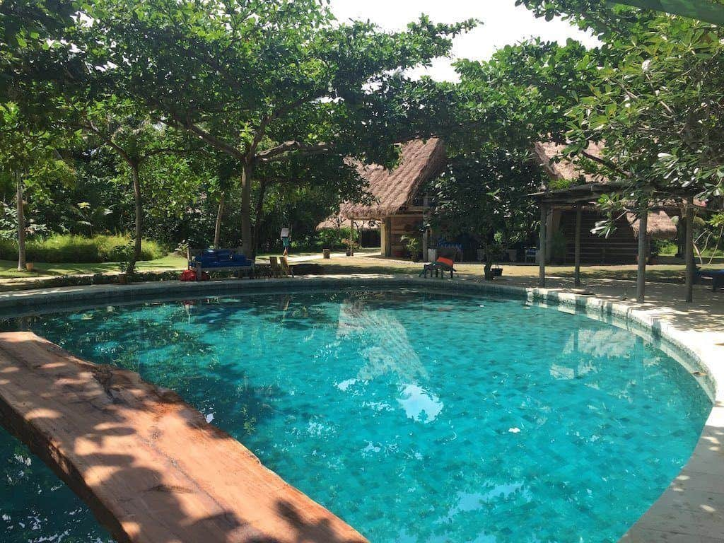 Pulau Joyo swimming pool