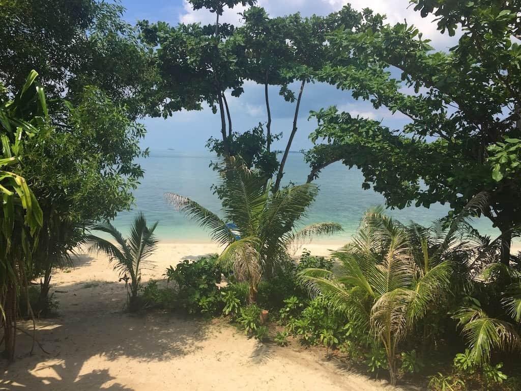 Pulau joy view from bedroom