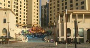 JBR Walk Dubai with kids
