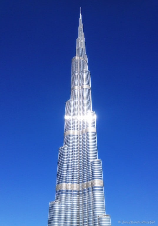 Burj Khalifa Dubai stopover