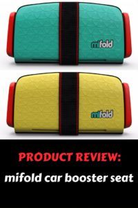 mifold car booster seat review