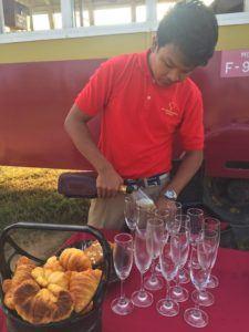 Balloons Bagan champagne