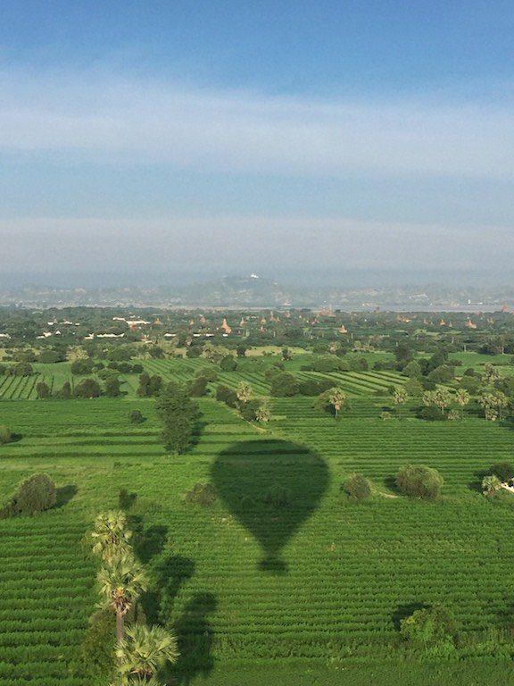 Ballooning Bagan shadow