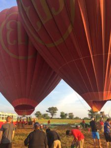 Ballooning over Bagan Balloons
