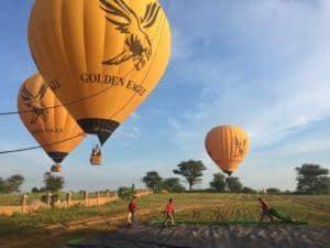 Balloons Bagan Golden Eagle