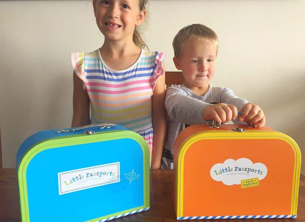 Little Passports suitcases