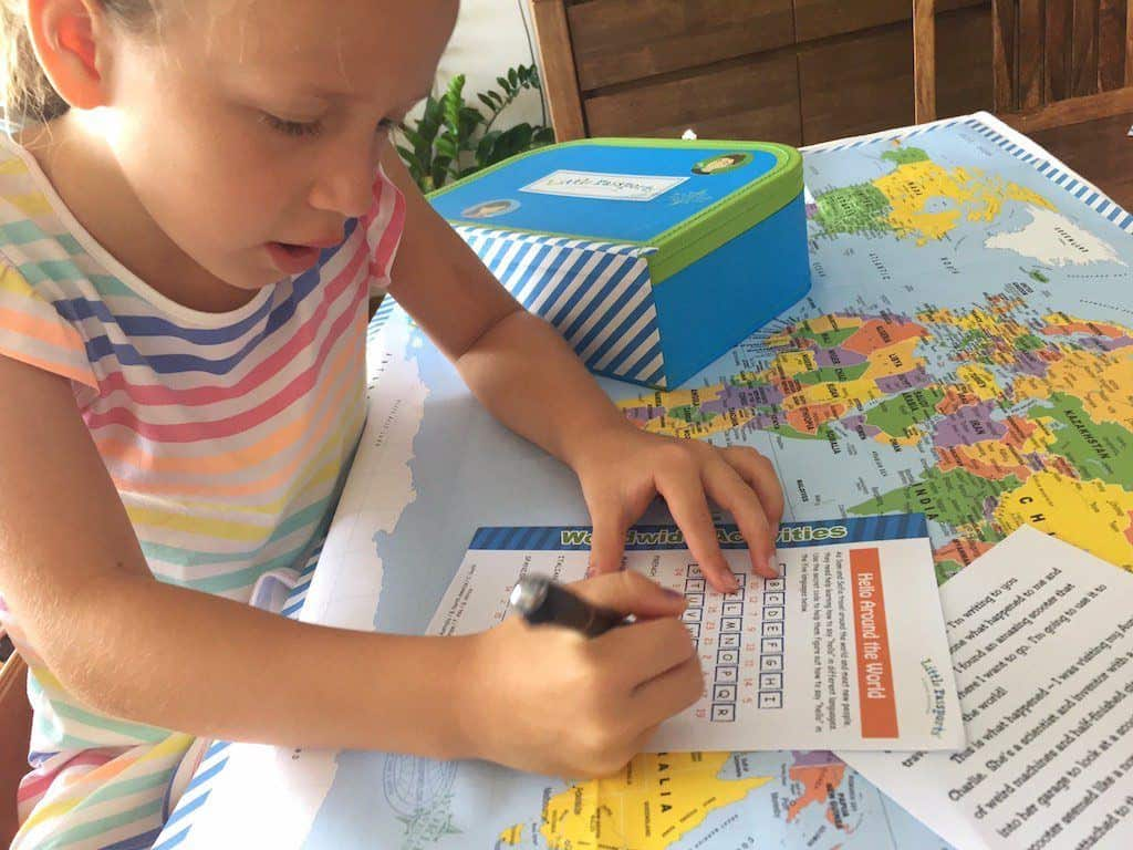 Little Passports world explorer