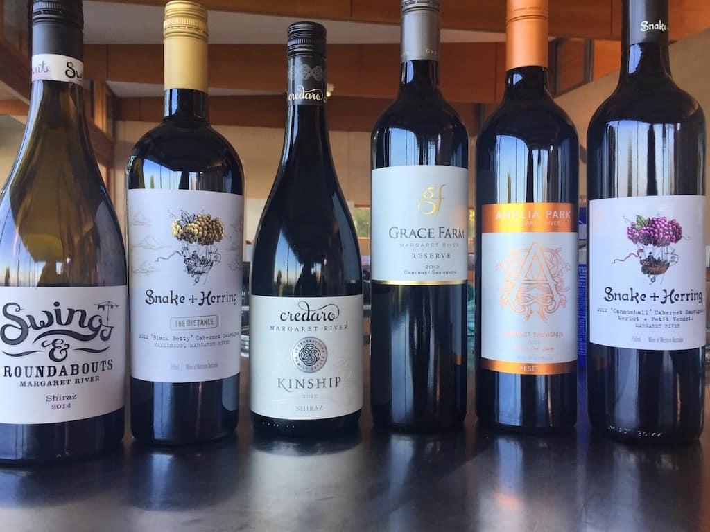 Margaret River wines
