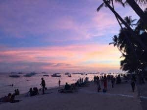 Amorita Resort Bohol sunset