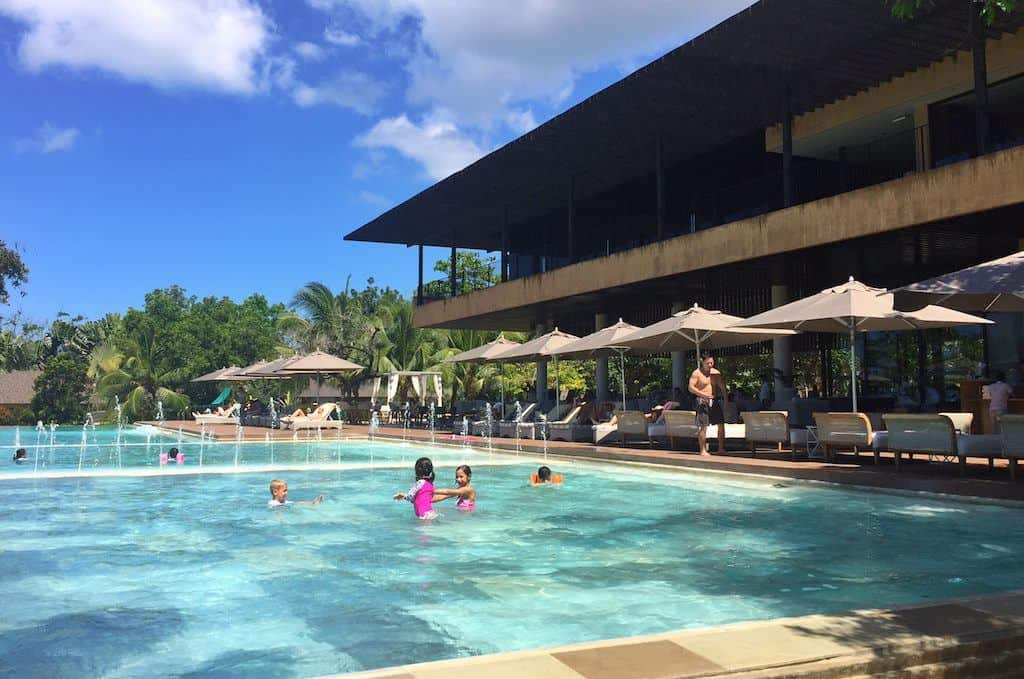 Amorita Resort Bohol swimming pool