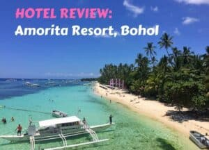 Hotel Review Amorita Resort Bohol