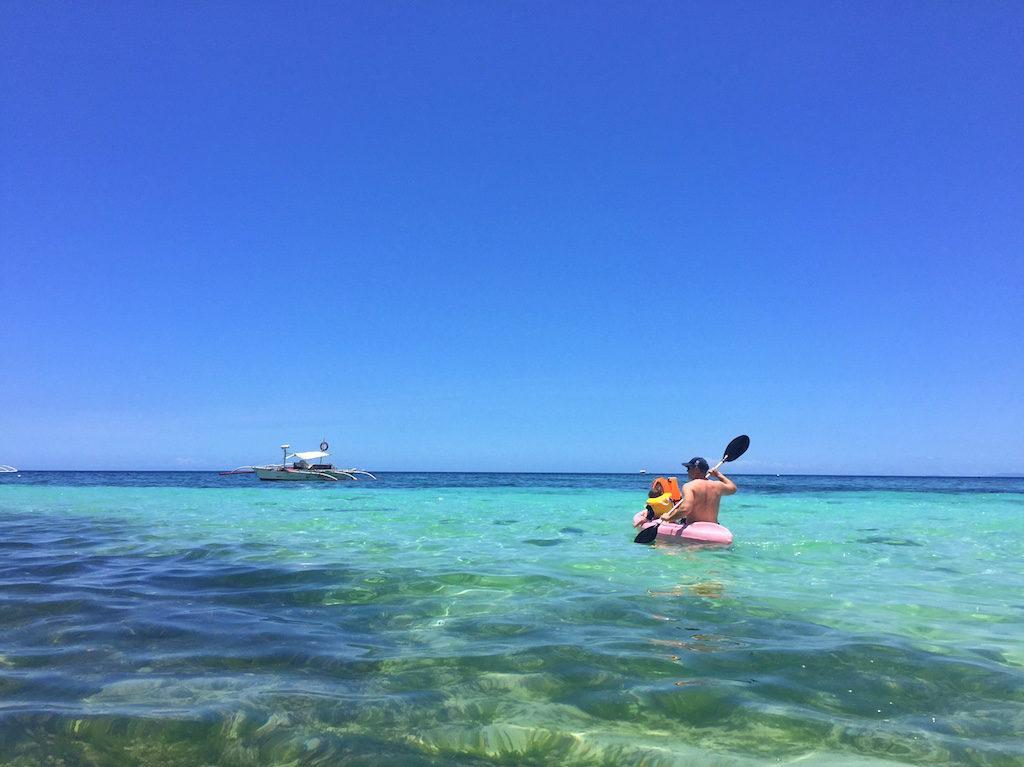 Amorita Resort Bohol kayaking