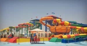 Legoland water park Dubai with kids