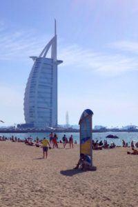 Sunset Beach Dubai with kids