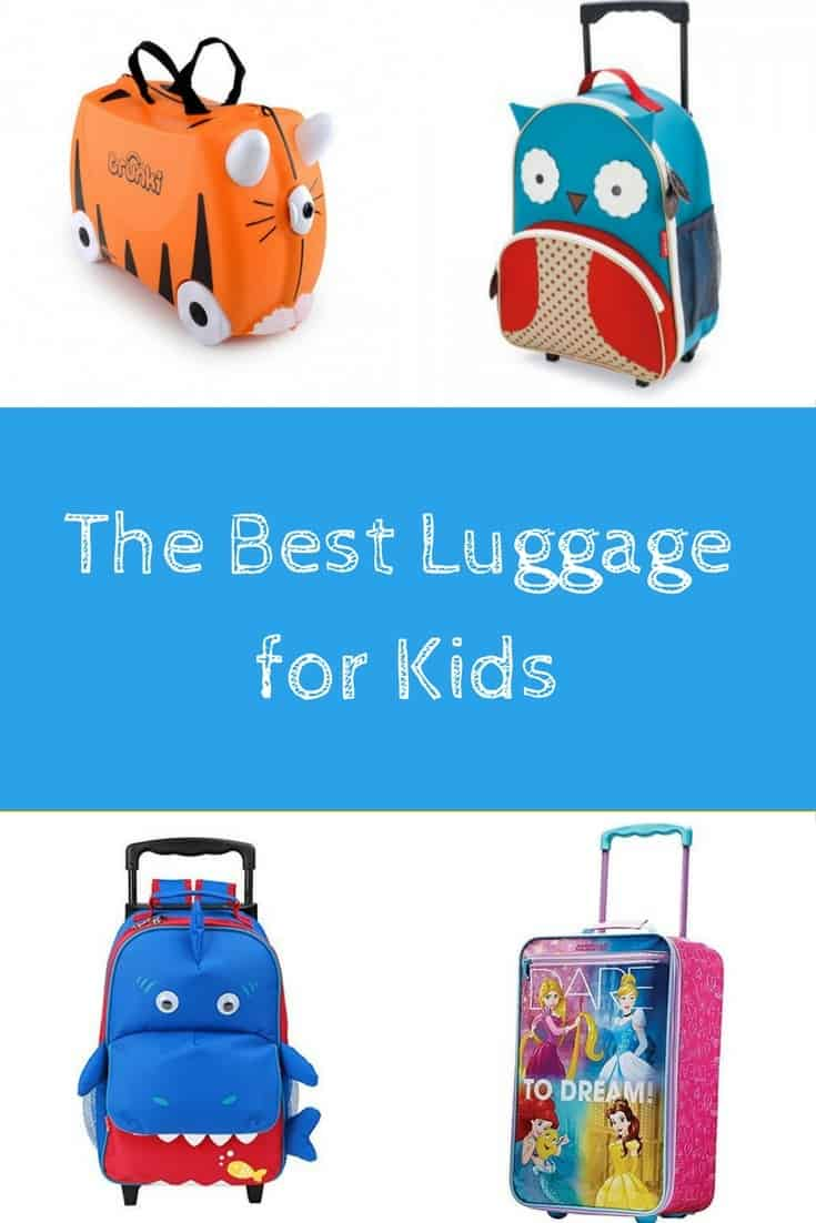 The Best Luggage for Kids | Mum on the Move