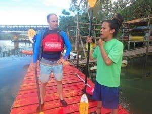 Abadan River Kayaking tour safety briefing