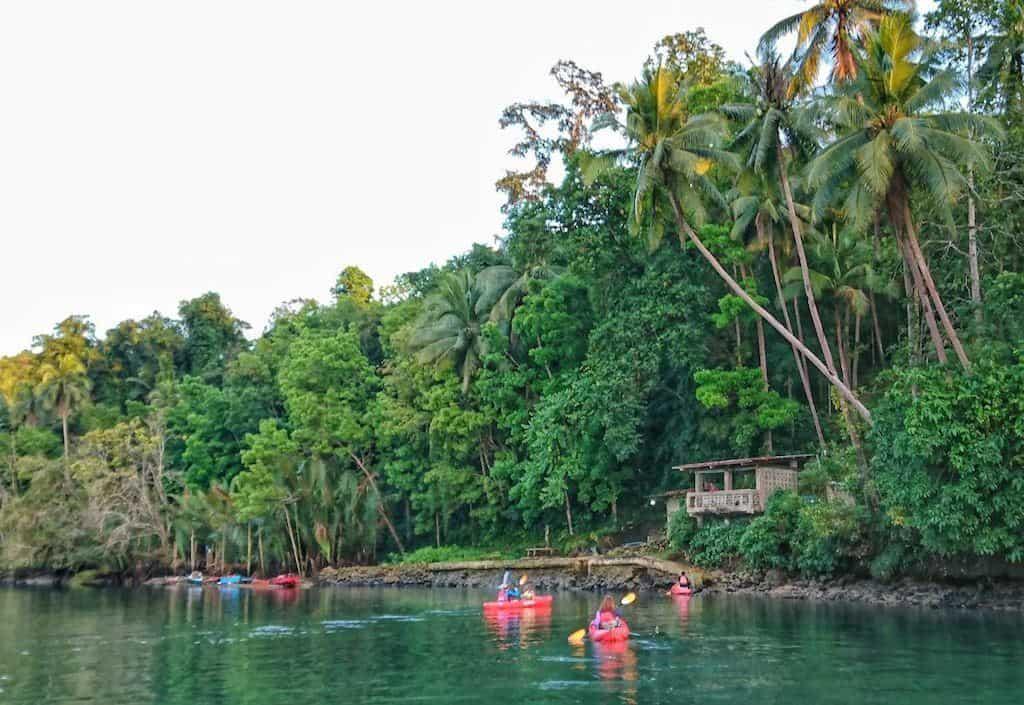 Kayaking Bohol