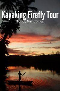 Firefly Kayaking Tour Bohol