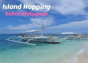 Island Hopping in Bohol, Philippines
