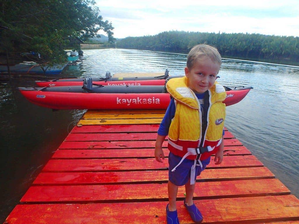 Bohol kayaking tour