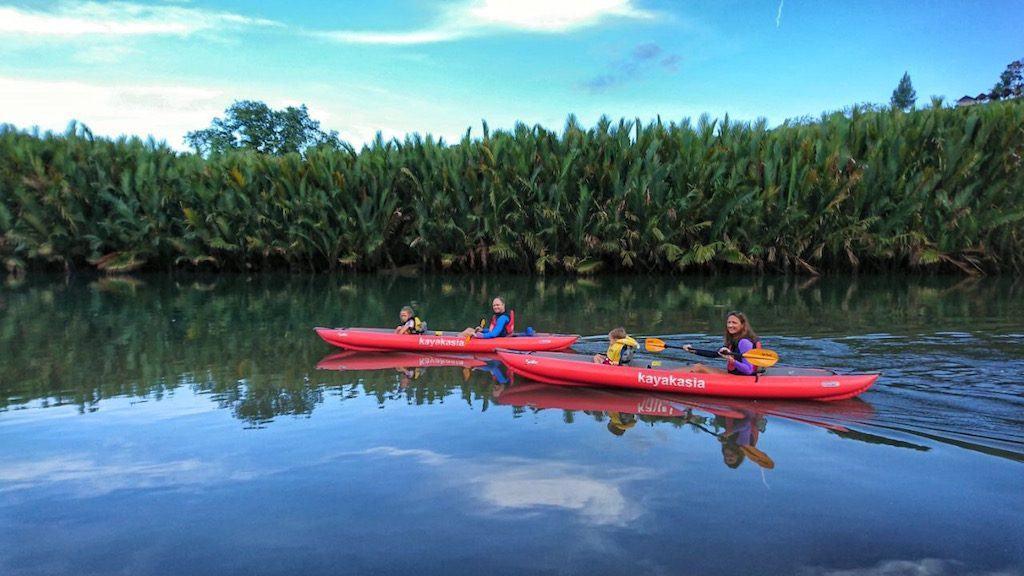 Abatan River kayaking