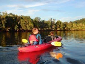 Kayaking Bohol Sunset