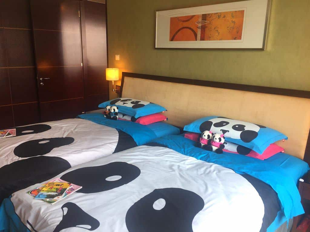 Shangri-La hotel Chengdu kids bedroom
