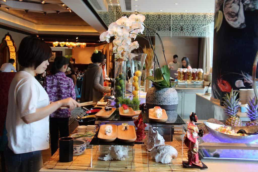 Shangri-La hotel Chengdu breakfast