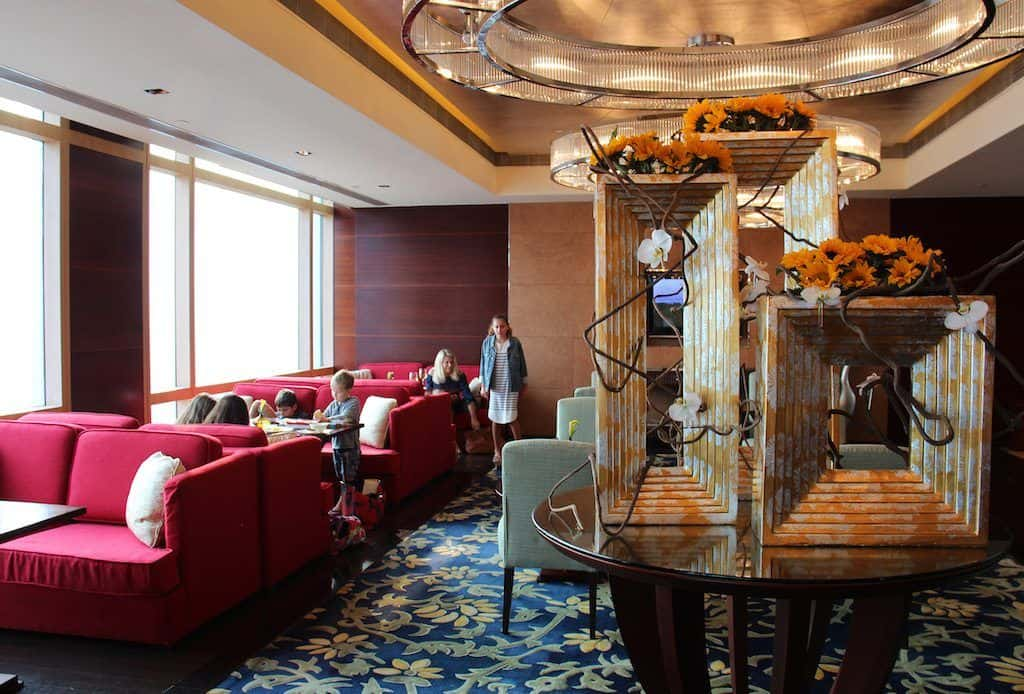 Shangri-La hotel Chengdu horizon lounge