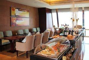 Shangri-La hotel Chengdu horizon lounge buffet