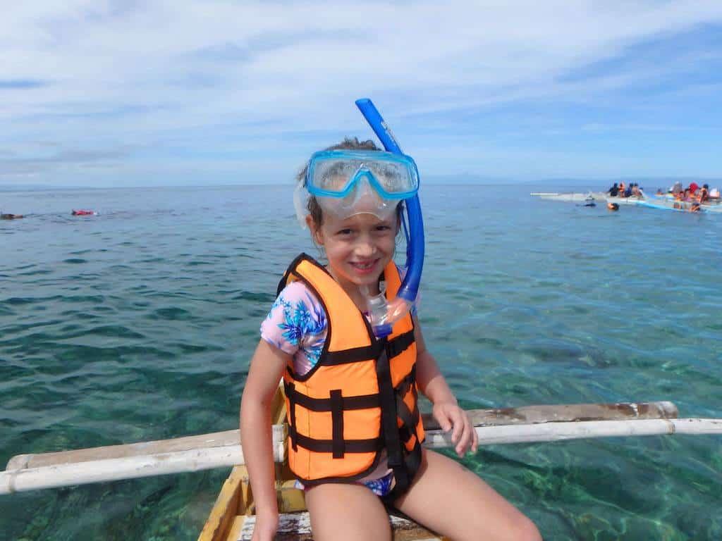 Snorkeling Balicasag Island Bohol