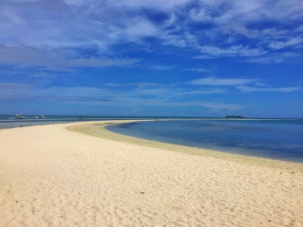 Virgin Island Sand bar Bohol
