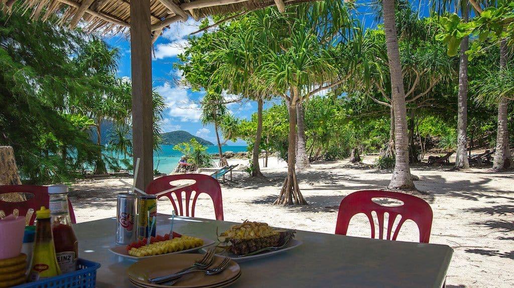 Bon Island restaurant Phuket