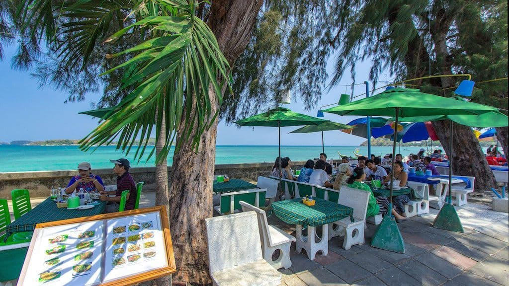 Rawai Beachfront restaurants