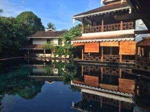 Belmond Governor's Residence Yangon swimming pool.