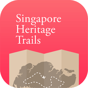 Singapore heritage trails app