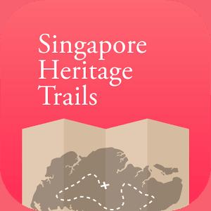 Singapore heritage trails app