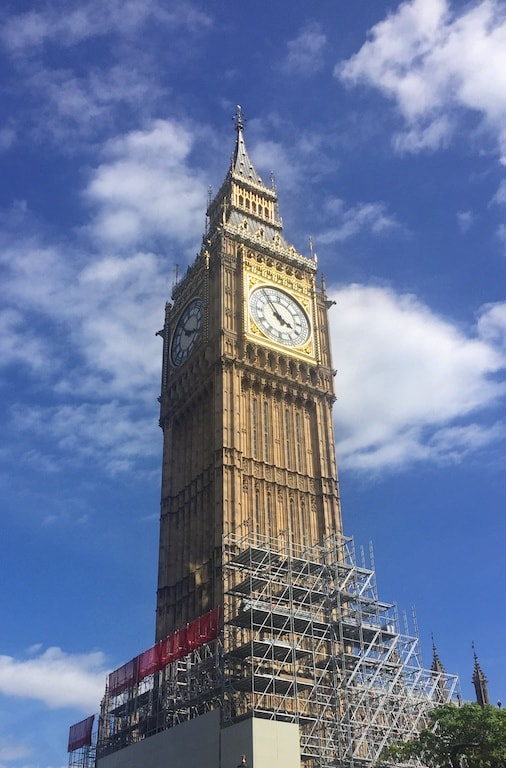 Big Ben London sightseeing