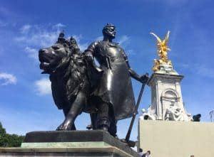 Buckingham palace London sightseeing