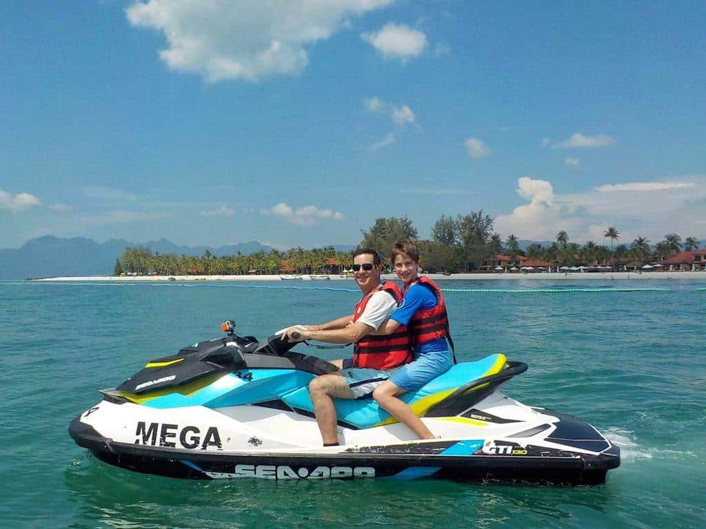 Langkawi Jet Ski Tour with Kids