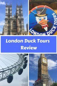 London Duck Tours review