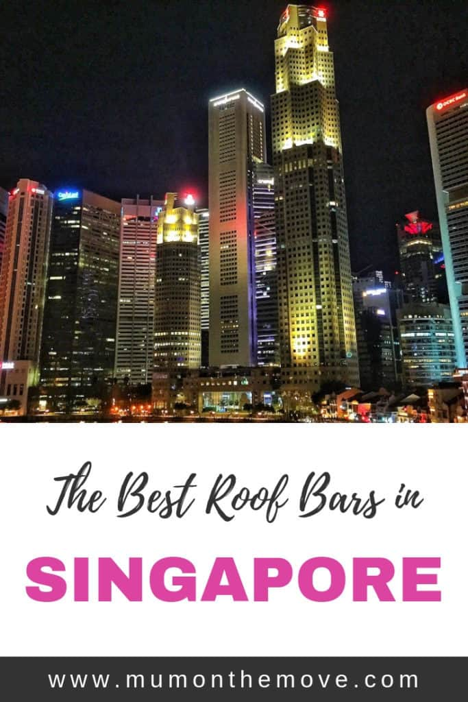 The best Singapore roof bars