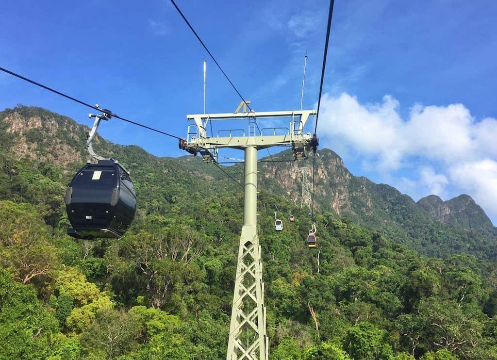 SkyCab cable car Langkawi