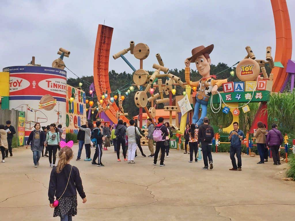 Toy story land HK Disney