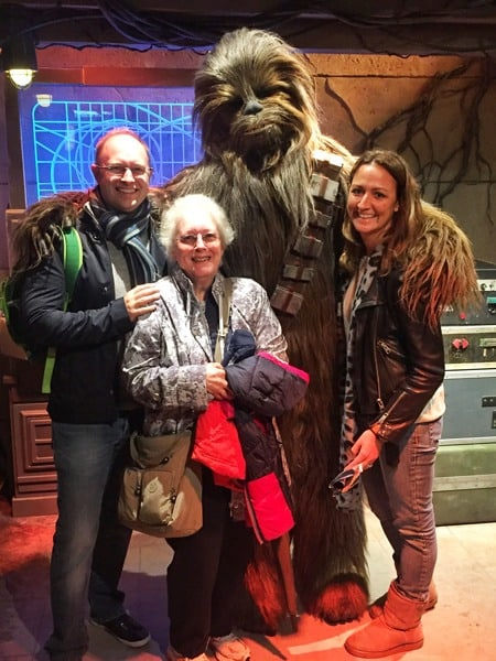 Meet Chewbacca at Hong Kong Disneyland