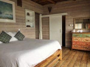 Telunas private island bedroom