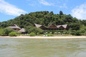 Telunas Private island resort